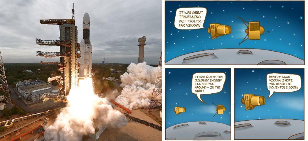 Chandrayaan-2 Gives Out 'Message' To Lander Vikram (Photo Credit: ISRO)