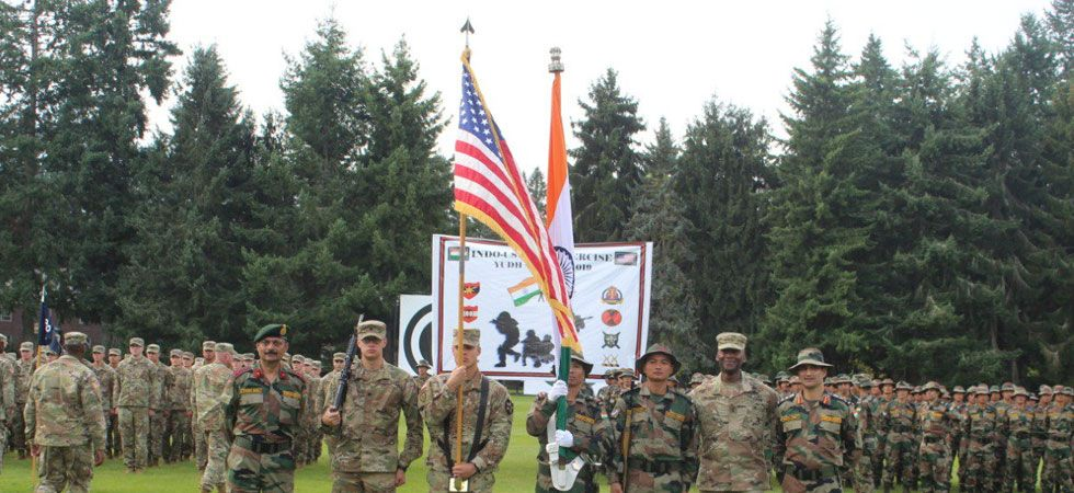 The joint military exercise, Yudh Abhyas 2019, started on September 5 at the Joint Base Lewis McChord. (Image Credit: PIB)