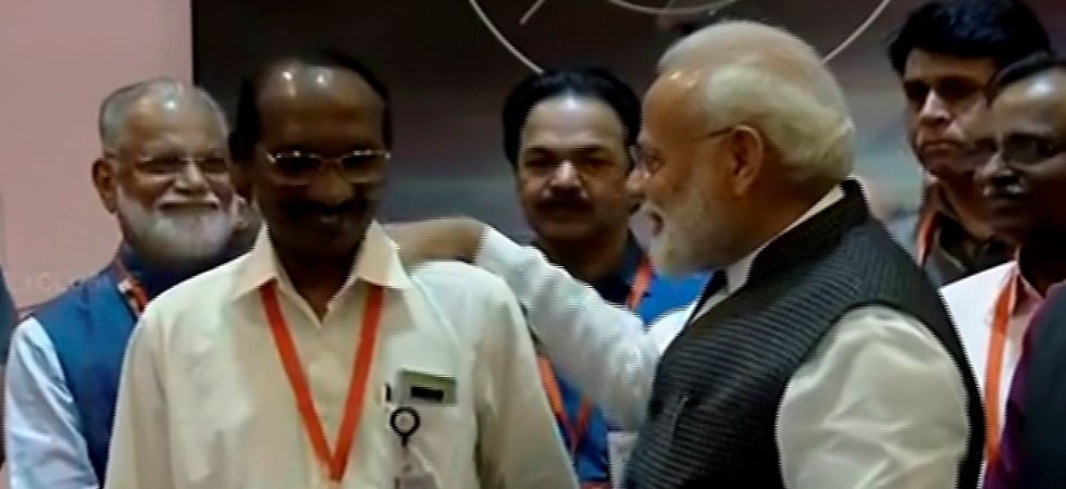 PM Modi had earlier watched the proceedings as the lander began its descent towards the moon's surface at an ISRO centre. (PTI Photo)