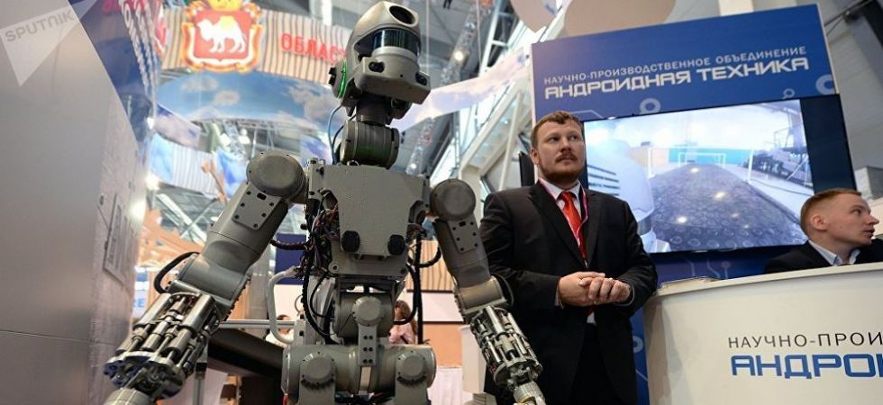 Russia's first humanoid robot Fedor (Photo Source: Twitter)