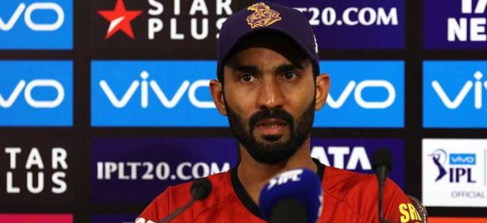 Dinesh Karthik has tendered an unconditional apology (Image: @KKRiders)