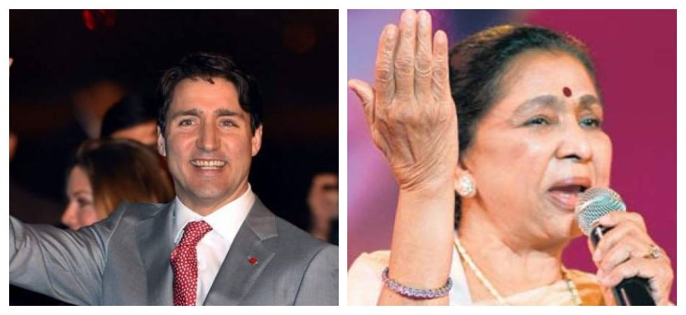 Justin Trudeau sends best wishes to Asha Bhosle on birthday (Photo: Twitter)