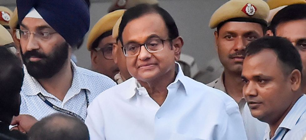 Chidambaram is in 14-day judicial custody till September 19 in INX Media case (Image; PTI)