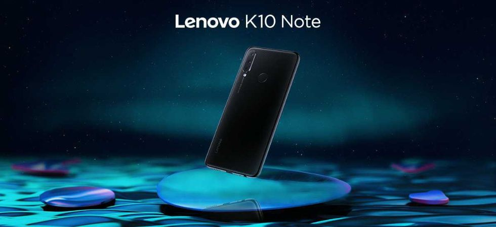 Lenovo K10 Note launched in India (Photo Credit: Twitter/@LenovoMobileIN)