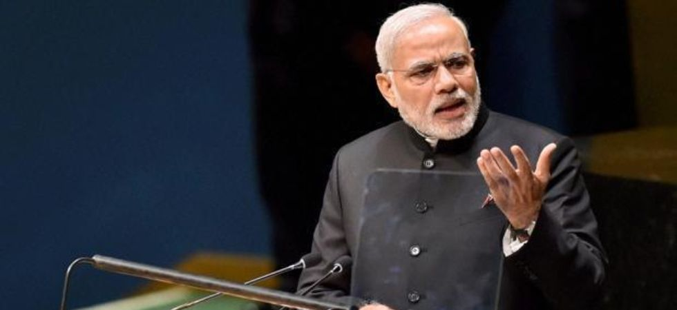 PM , Modi had given his maiden address to world leaders at the UN General Assembly in 2014 (Image: PTI File)