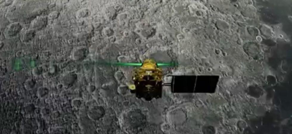 Chandrayaan-2's lander Vikram on lunar surface (File Photo)