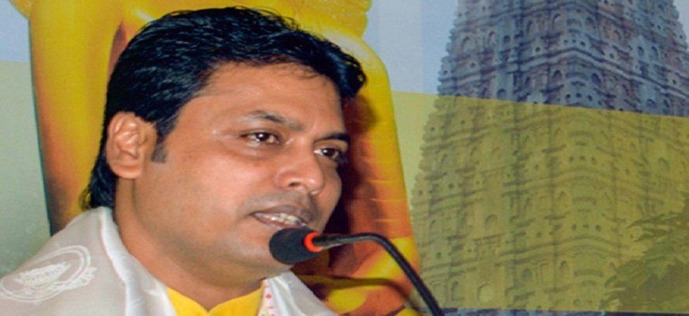 Chief Minister Biplab Kumar Deb