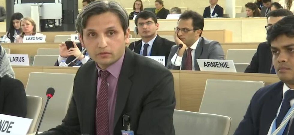 Vimarsh Aryan, First Secretary MEA at UNHRC (Photo Source: ANI)