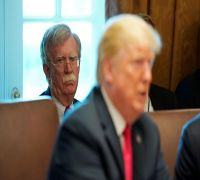 US President Donald Trump Fires National Security Adviser John Bolton