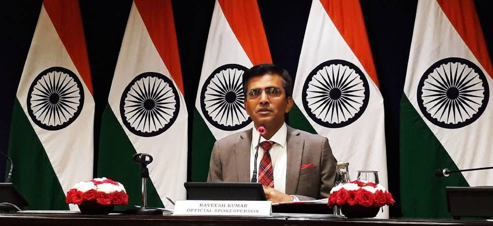 India hit back at China and Pakistan for mentioning Kashmir in a joint statement. (Image: News Nation File)