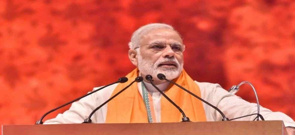PM Modi was speaking at