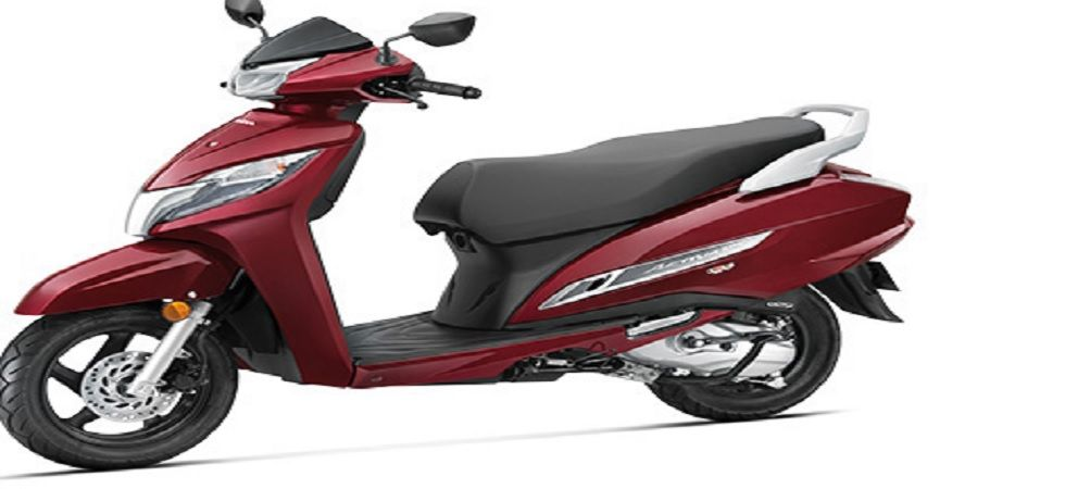 The scooter will be offered with several updated colour options including Rebel Red Metallic, Black. (Photo Credit: Honda India Website)