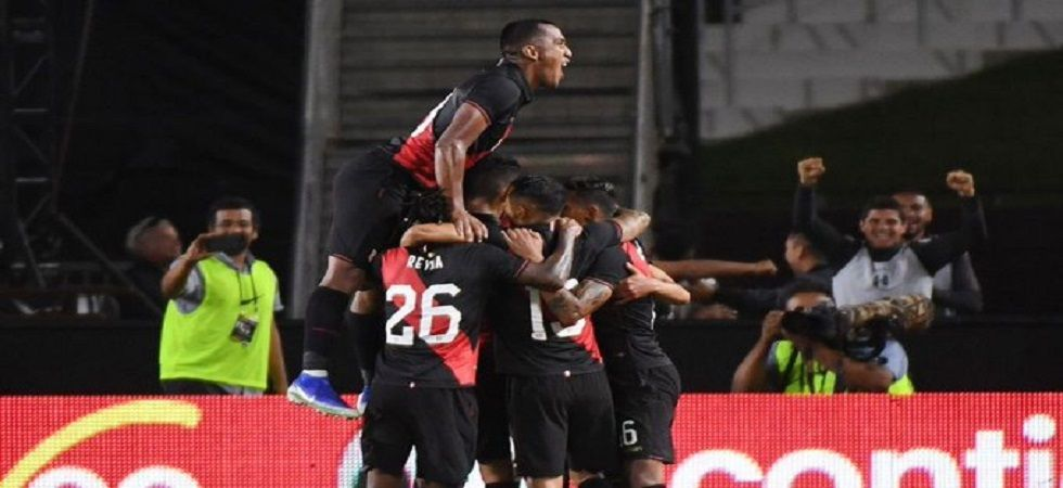Peru defeated Brazil 1-0 in a football friendly as they avenged their Copa America Final loss. (Image credit: Twitter)