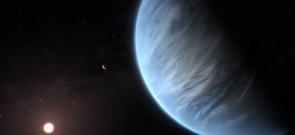 Hubble Finds Water Vapour on Habitable-Zone Exoplanet (Photo Credit: ESA/Hubble, M. Kornmesser)