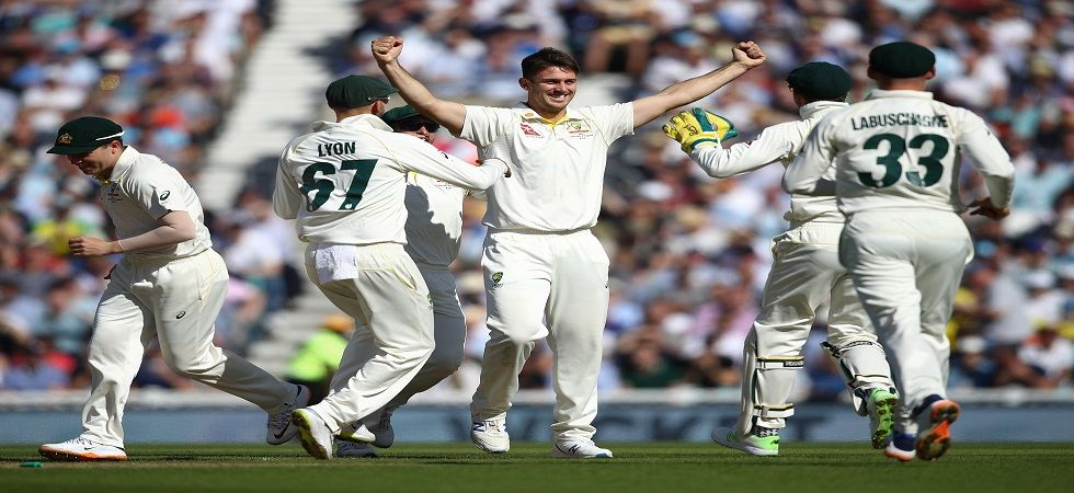 Mitchell Marsh took his first five-wicket haul in Tests, having taken one in ODIs which was also against England. (Image credit: Getty Images)