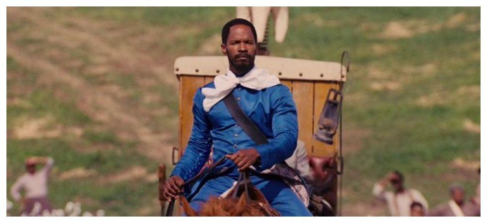 Jamie Foxx tried to talk Idris Elba out of doing 'Django Unchained' (Photo: Twitter)