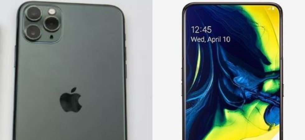 Apple iphone 11 Pro Vs Samsung Galaxy A80: Specs, Prices Compared (File Photo)