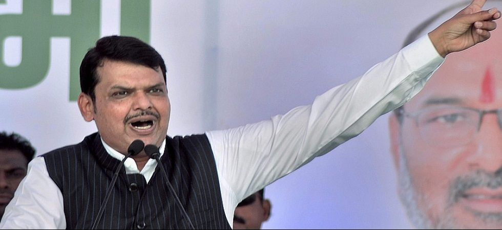Devendra Fadnavis on Saturday visited some tehsils in Pune as part of the third leg of his mass outreach campaign. (File Photo: PTI)