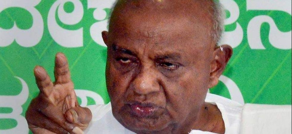 Deve Gowda on Thursday indicated his party was still open for continuing its alliance with the Congress. (File Photo: PTI)