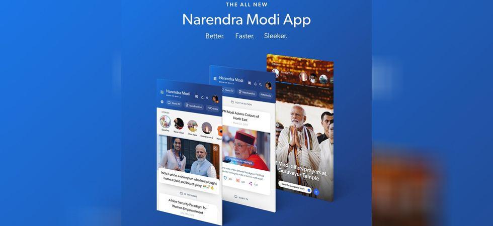 NaMo has got over 1.5 crore downloads across various platforms. (Image Credit: Twitter)