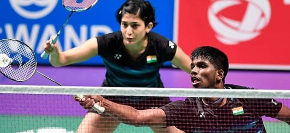 Satwiksairaj Rankireddy and Ashwini Ponnappa (Image: @BAI_Media)