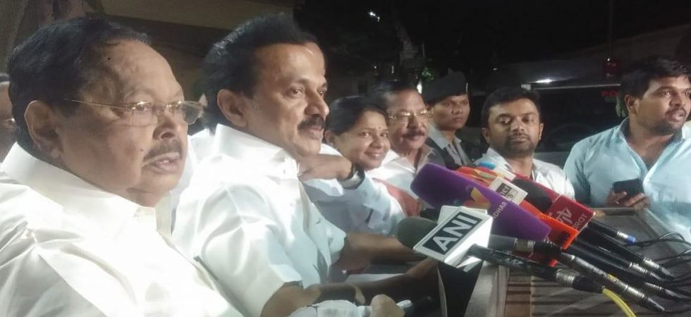 DMK chief MK Stalin (Photo Source: ANI)