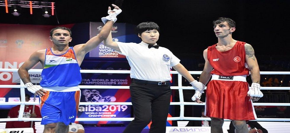 Amit Panghal and Manish Kaushik have ensured India win at least two medals in the World Boxing Championship. (Image credit: Twitter)