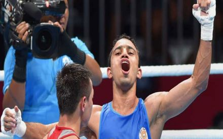 Amit Panghal Becomes First Indian Boxer To Reach World Men's Championship Final