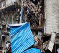 Mumbai: Part Of 4-Storey Building Collapses Due To Heavy Rains At Lokmanya Tilak Road