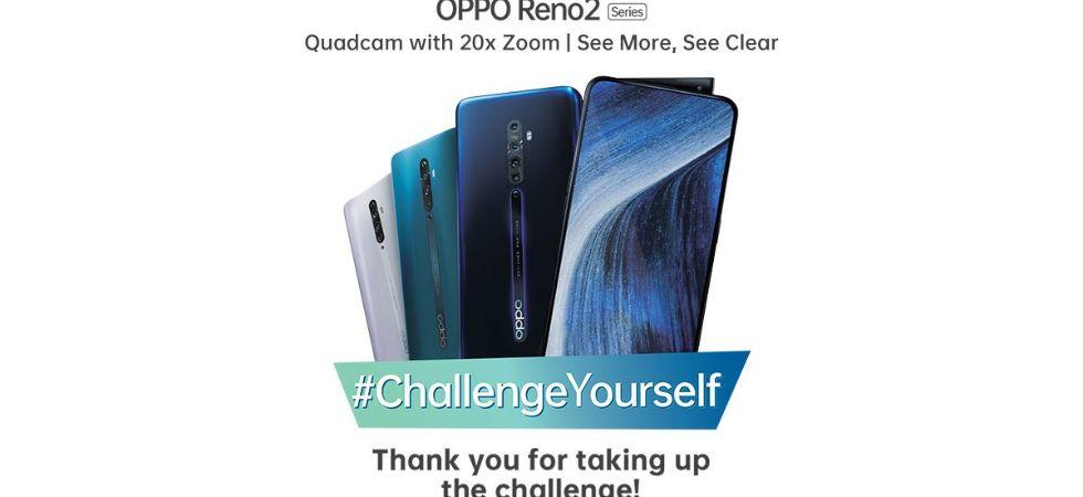 Oppo Reno 2 sale begins (Photo Credit: Twitter/@oppomobileindia)