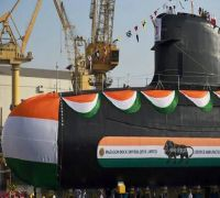 Watch: Indian Navy Releases First Look Of INS Khanderi, To Be Commissioned On September 28