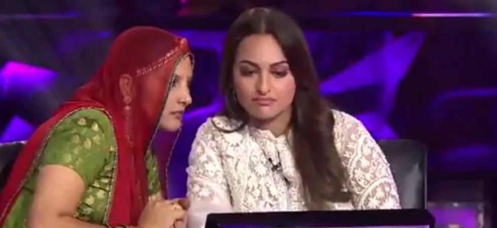 KBC 11: Sonakshi Sinha Fails To Answer Question From Ramayana (Pic courtesy: Twitter/SonyTV)