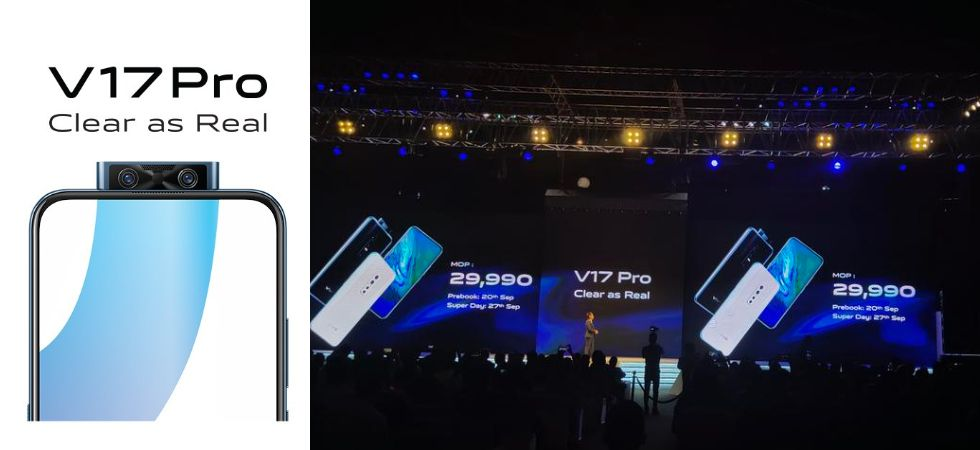 Vivo's camera-centric smartphone dubbed as 'Vivo V17 Pro' has finally gone official in India. (Photo Credit: Twitter/@Vivo_India)