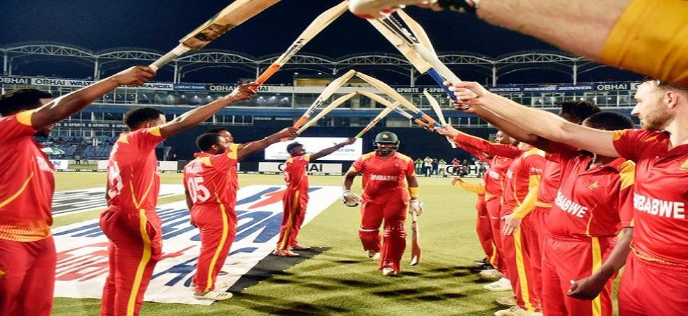 Hamilton Masakadza smashed a fifty in his last international match as Zimbabwe finally defeated Afghanistan in Twenty20 Internationals. (Image credit: Twitter)