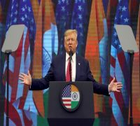 Mumbai To Host NBA Match Next Week, I May Come To India: Trump at 'Howdy, Modi' Event