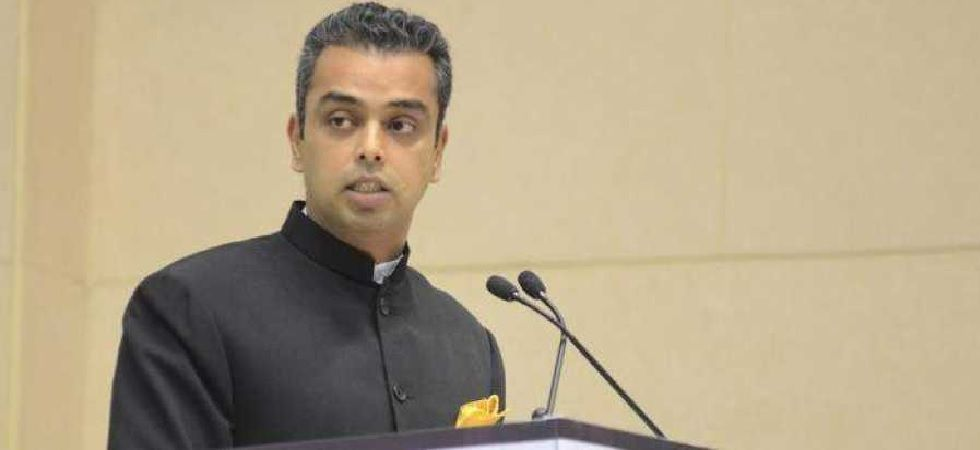 Congress leader Milind Deora (Photo: Twitter)