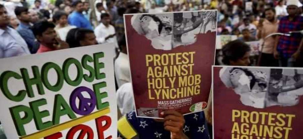 Protest against mob-lynching deaths (File/PTI Photo)