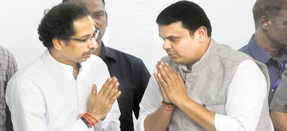 Intense negotiation is going on seat-sharing deal between BJP-Shiv Sena. (File Photo: PTI)