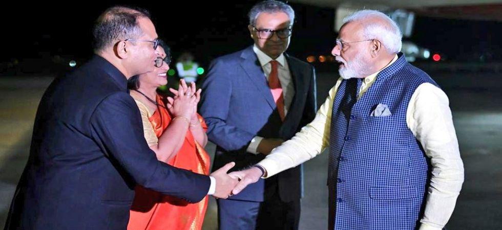 Prime Minister Narendra Modi reaches New York (Photo Source: Twitter - @MEAIndia)
