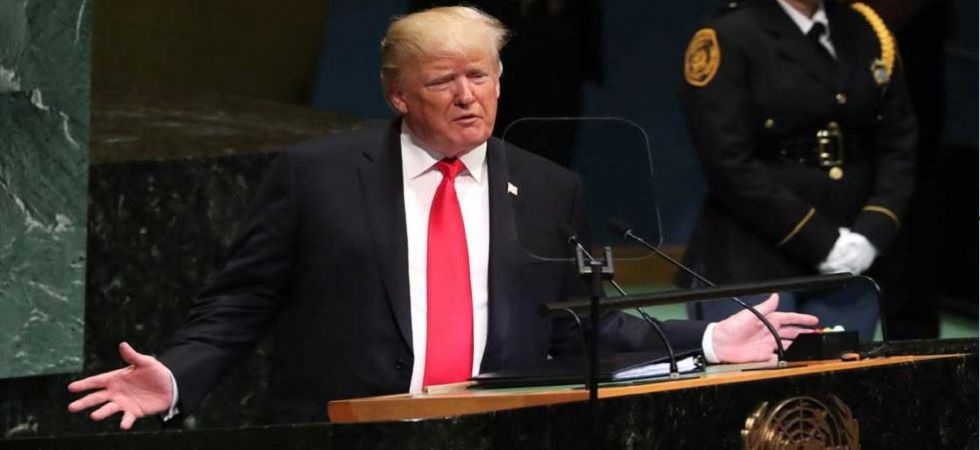 US President Donald Trump Addresses United Nations General Assembly