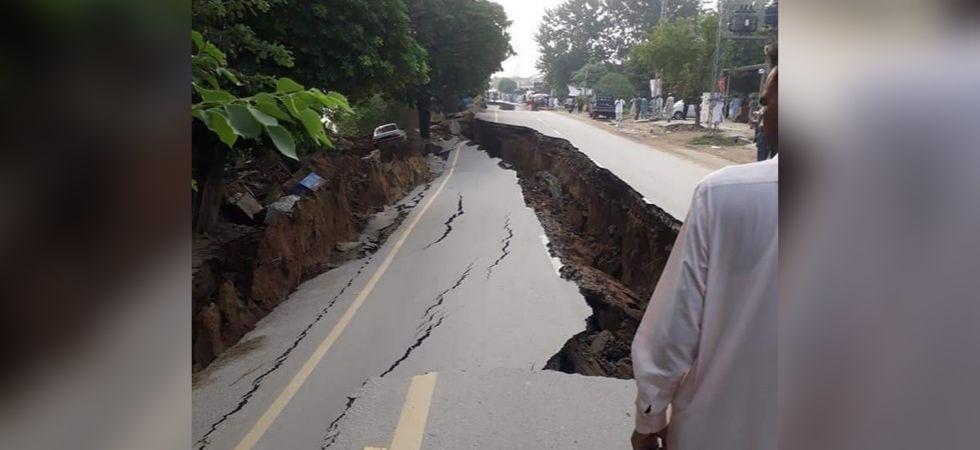 Earthquake in Pakistan (Photo Source: Twitter - @DevelopmentPk)