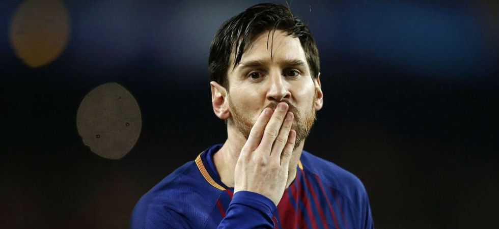 Lionel Messi defeated Virgil van Dijk and Cristiano Ronaldo to win the award (Image: PTI File)
