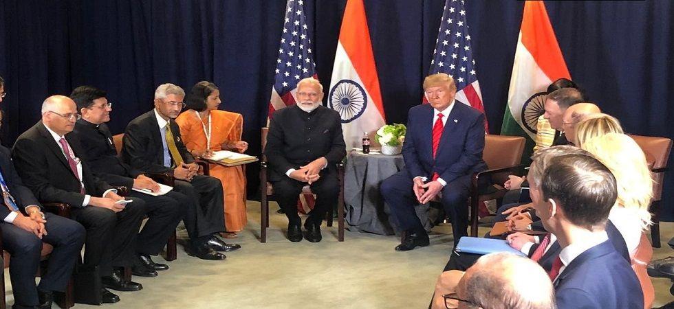 PM Modi meets Donald Trump on sidelines of UNGA session