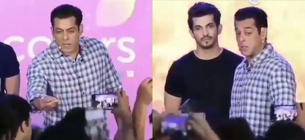 Salman Khan at Bigg Boss 13 launch event. ( Screengrab of Insta video)
