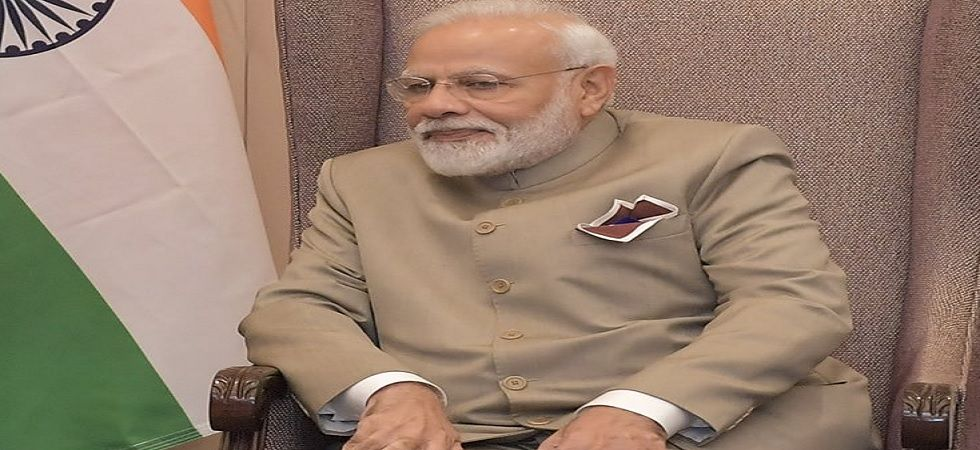 PM Modi said that terrorists should not be allowed to get funds and arms, for this objective to be realised (Photo: Twitter@narendramodi)