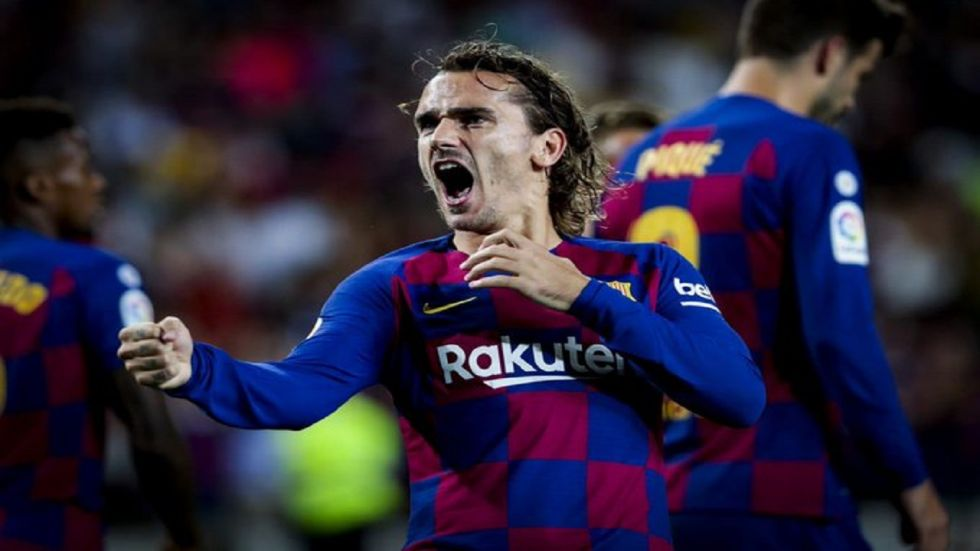 Barcelona had suffered a humbling 2-0 loss at newly-promoted Granada last weekend, a result that left them with seven points from five games, their worst start to a season since 1995. (Image credit:Twitter)