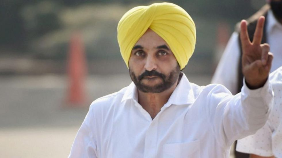 The president of AAP state unit Bhagwant Mann made the announcement (Image: PTI File)