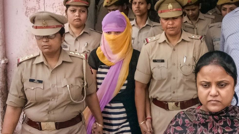 Law student who accused Chinmayanand of rape denied bail in extortion case (File Photo: PTI)