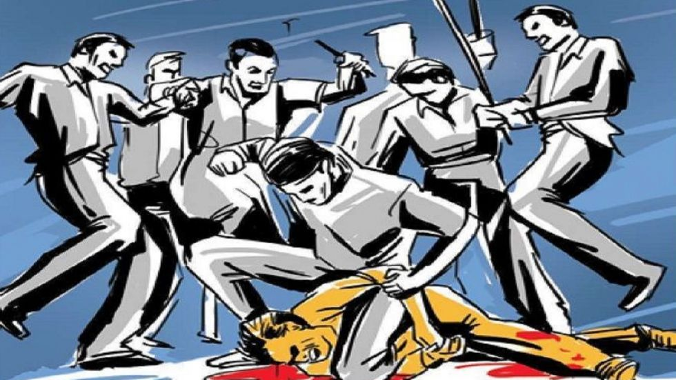 Two children were allegedly beaten to death by some people for defecating in front of a panchayat building in Madhya Pradesh's Shivpuri district
