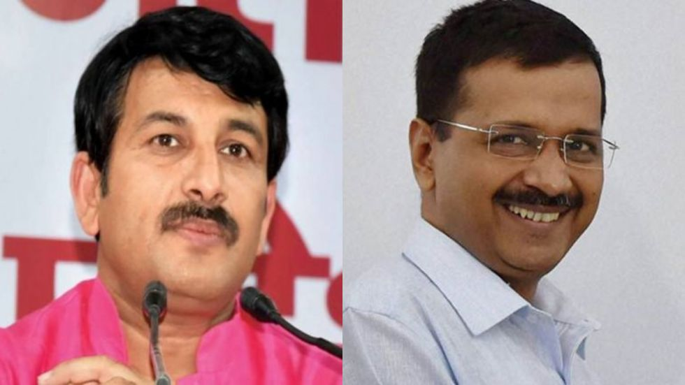 Arvind Kejriwal was asked about Manoj Tiwari's comments on NRC at a press conference (Image: PTI)